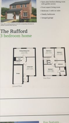Persimmon Rufford Floor Plans Google Search Persimmon