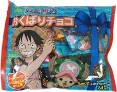 One Piece Crunch Chocolate Snack Pack $7.00 http://thingsfromjapan.net/one-piece-crunch-chocolate-snack-pack/ #one piece chocolate #Japanese chocolate #Japanese snack