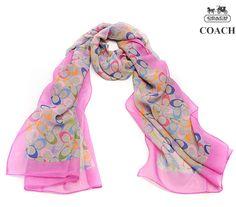 COACH LADIES SCARVES PICS | 2010 fashion coach silk scarf wholesale coach winter scarves 2010