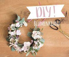 Flowerpower! Ob zur Hochzeit, auf dem Festivalgelände oder zum Münchner Oktoberfest: der DIY Blumenkranz darf nicht fehlen! Wir zeigen Ihnen wie´s geht.