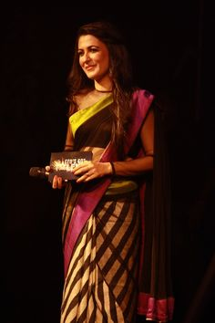 Host of the evening: The charming Mini Mathur