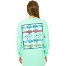 Southern Prep Tee in Mint Green by The Southern Shirt Co.