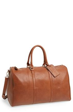 Free shipping and returns on Sole Society 'Lacie' Duffel Bag at Nordstrom.com. A roomy faux-leather duffel bag serves as a refined, versatile overnight or weekend companion.