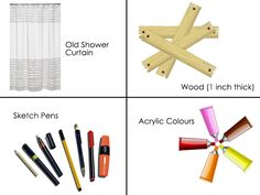 Know how to reuse your shower curtains as a home decor- http://goo.gl/FOdLYi