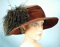 early 1920s transitional flat-top cloche