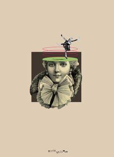 """Los días contados"""" 14/05/2015 by Maria Salomon #collage #mariasalomon #bysalomon #losdiascontados"""