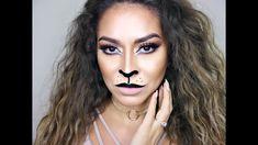 Sexy Lion Makeup Tutorial   Cat Halloween Makeup Tutorial