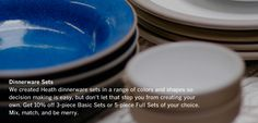Dinnerware Sets - Heath Ceramics