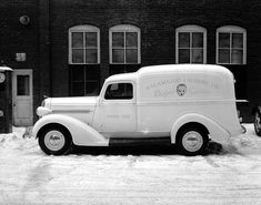 1937-38 Dodge Delivery Panel Truck