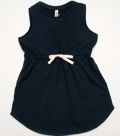 Blue summer dress in organic cotton, by Gray Label at Loja Dada