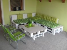 Pinner wrote: My Pallets Balcony Set | 1001 Pallets