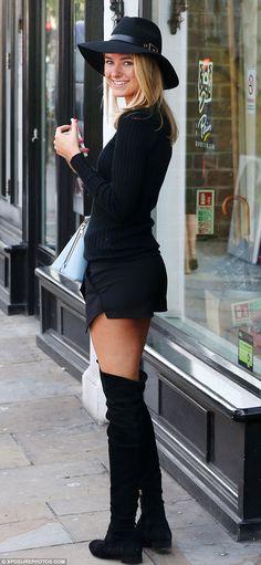 Kimberley Garner - celebrity style influence
