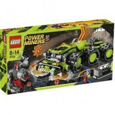 Lego Cave Crusher for sale online Lego Tractor, Space Miner, Power Miners, Lego Structures, Kids Gift Baskets, Lego Army, Lego Speed Champions, Lego Activities, Ramadan Gifts