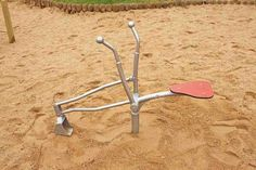 the playground sand digger/backhoe