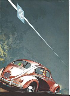 1958 Volkswagen Brochure Cover