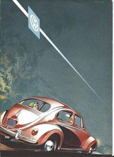 1958 Volkswagen Brochure