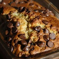 Chocolate Chip Banana Bread....seriously the best banana bread I have ever had!!
