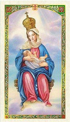 Oracion a Nuestra Senora De La Leche Tarjeta De Rezo Bendecida Por Su Santidad