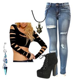 """Untitled #303"" by lean-mean-dean on Polyvore featuring Breckelle's"