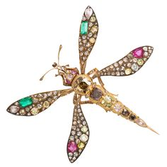 1stdibs   Antique Jeweled Mosquito Brooch  I really don't think I would cal this a mosquito, especially when it costs $11,000!