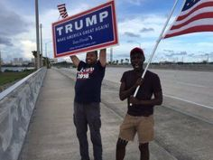 DEMS IN CRISIS=> LA Times Poll Shows Trump Is Surging with African Americans  Jim Hoft Aug 17th, 2016