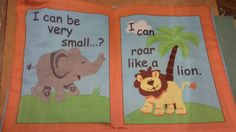 """""""I can"""" Soft book -$20. (LMH)"""