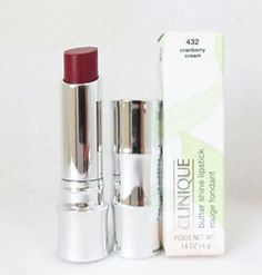Clinique Butter Shine Lipstick 432 Cranberry Cream -- You can find more details by visiting the image link.Note:It is affiliate link to Amazon.
