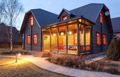 Дом недели: коттедж в кантри-стиле в Одинцовском районе | Свежие идеи дизайна интерьеров, декора, архитектуры на InMyRoom.ru