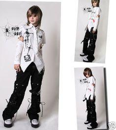 Unisex Visual Kei Gothic NANA Dolly KERA Lolita shirt+arm warmer White S~XL #OWNBRAND #Blouse