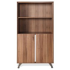 The 300 Series Bookcase Walnut comes with a durable work top with a non scratch…