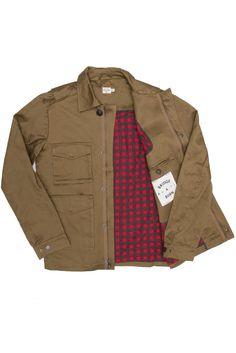 Adams Brown Canvas Jacket