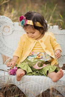 Persnickety Clothing | Infant - Erika Dress - Yellow - Bo Peep #OGTBOPEEP