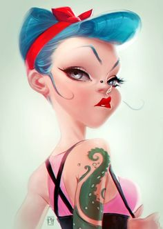Pinup Arena • By Antonio De Luca ★ Find more at http://www.pinterest.com/competing/