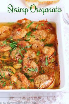 Italian Shrimp Oreganata The post Italian Shrimp Oreganata appeared first on Woman Casual - Food and drink Italian Shrimp Recipes, Best Seafood Recipes, Italian Appetizers, Seafood Appetizers, Yummy Appetizers, Crawfish Recipes, Shellfish Recipes, Fish Dishes, Seafood Dishes