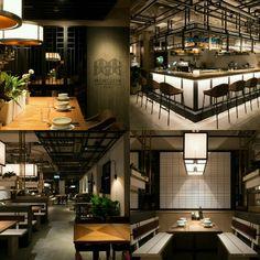 MOMOJEIN Korean restaurant Hong Kong designed by minusworkshop hk