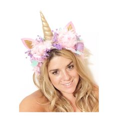 Unicorn headpiece, Halloween costume, unicorn costume Dark Unicorn Costume, Unicorn Halloween, Unicorn Party, Holidays Halloween, Halloween Makeup, Halloween Party, Unicorn Headpiece, Unicorn Headband, Unicorn Hair