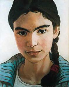 Emma, oil on canvas, 35x 45cm ©ermine