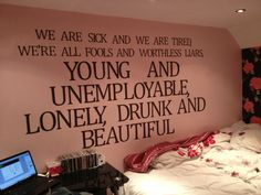 My favourite Deaf Havana lyric, and also, so bloody true. Quotes That Describe Me, Quotes To Live By, Lyric Quotes, Book Quotes, Punk Rock Princess, Just A Reminder, Dream Decor, Music Lyrics, Music Bands