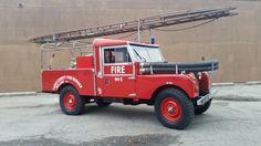 Land Rover Firetruck