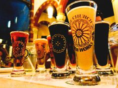 Brewery in an old church, Pittsburgh! Need to go the next time we visit!