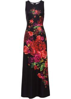 ad3cfdd8d40a6d Maxi-jurk riem donkerpaars - BODYFLIRT nu in de onlineshop van bonprix.nl  vanaf   36.99 bestellen. Betoverende maxi-jurk van het merk BODYFLIR…