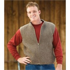 October Vest Crochet Pattern