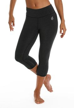 "Bamboo 17"" Sport Capri in Heather Charcoal"