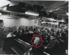 This is the picture Phil Schneider presented showing a humanoid alien Valient Thor with his father.