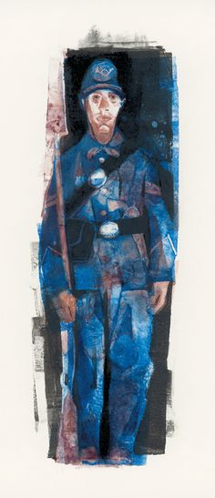 Gary Kelley, Soldier Sketch