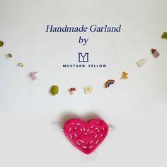 Handmade garland from Nepal