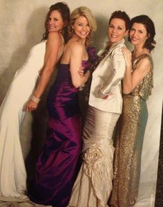 Lucy, Felicia, Tracy and Anna - General Hospital Nurses' Ball 2013 #GH #GH50