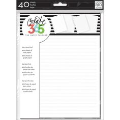 Me & My Big Ideas - Create 365 The Happy Planner - Note & Graph Paper