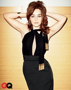 Emilia Clarke in GQ March 2013: Photos: GQ
