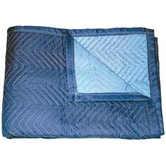 Ebern Designs The Monster Moving Pad is made with a soft, durable microfiber fabric to provide maximum protection for fine finishes and is heavily padded with lineal batting. It is dark blue/light blue with 3 in — matching the dark blue binding. Radios, Moving Supplies, Double Lock, California King, Consumer Electronics, Monster Trucks, Blanket, Fabric, Tela